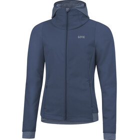 GORE WEAR R3 Windstopper Thermo Hoodie Women deep water blue